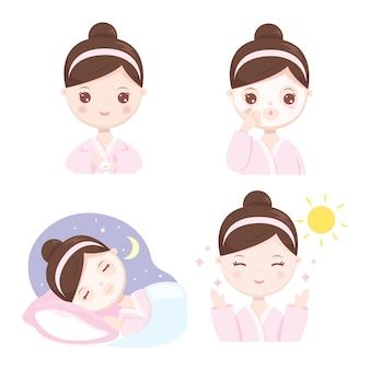 Cómo dormir máscara