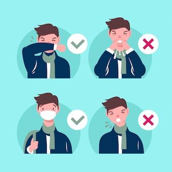 Cómo estornudar prevención