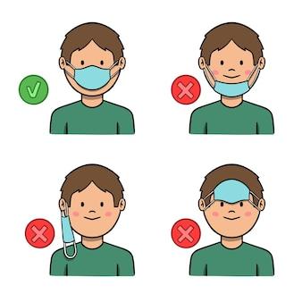 Cómo usar una mascarilla para bien y para mal