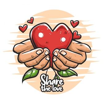 Comparte el amor