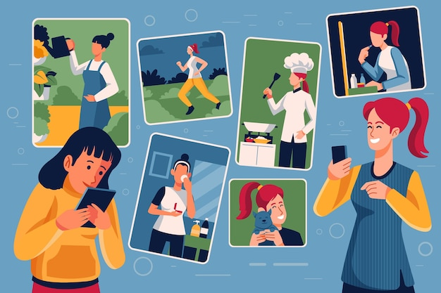 Compartir contenido en las redes sociales