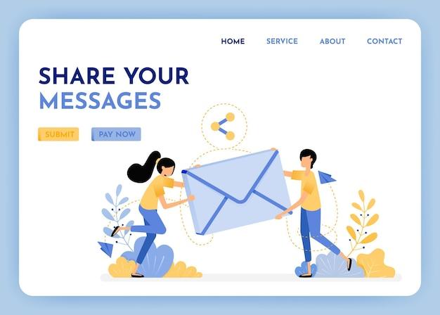 Compartir y enviar correo electrónico