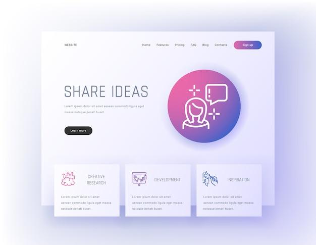 Compartir ideas