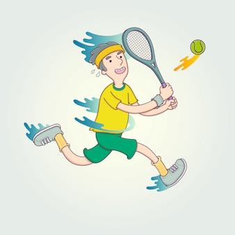 La competición del deportista.
