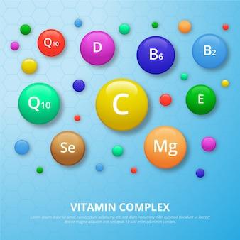 Complejo de vitaminas y minerales.