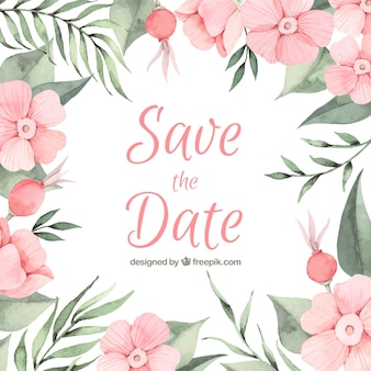 Composición adorable de boda con estilo floral