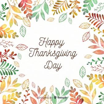 Composición adorable del día de acción de gracias