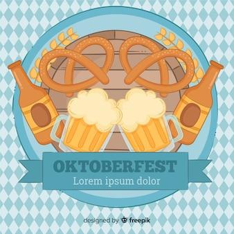 Composición adorable de oktoberfest