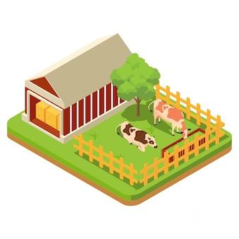 La composición de la agricultura.