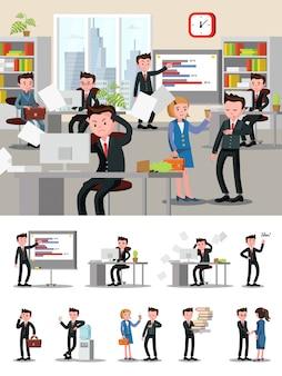 Composición de la atmósfera de oficina