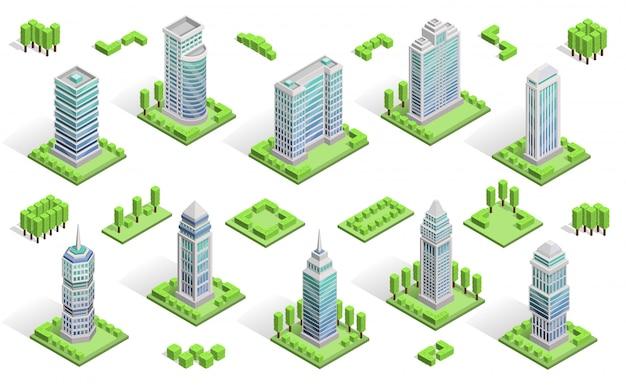 Composición de casas de ciudad