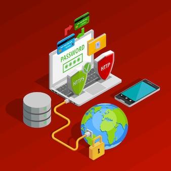 Composición del concepto de protección de datos