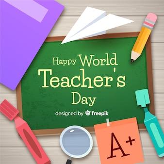 Composición del día del profesor
