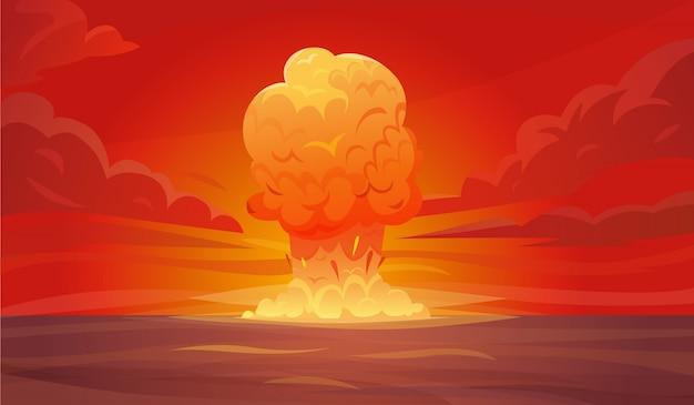 Composición de la explosión nuclear