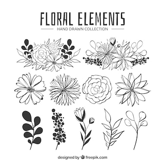 Composición floral adorable