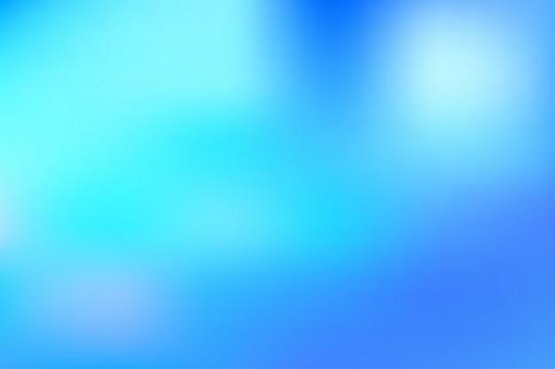Composición de fondo degradado suave borrosa moderna azul claro