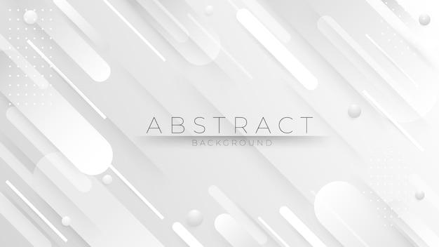 Composición geométrica minimalista de formas de degradado de moda.