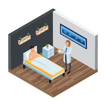 Composición isométrica de la clínica probiótica