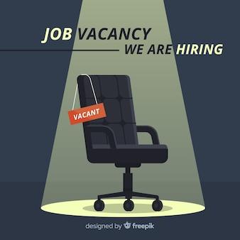 Composición moderna de oferta de empleo