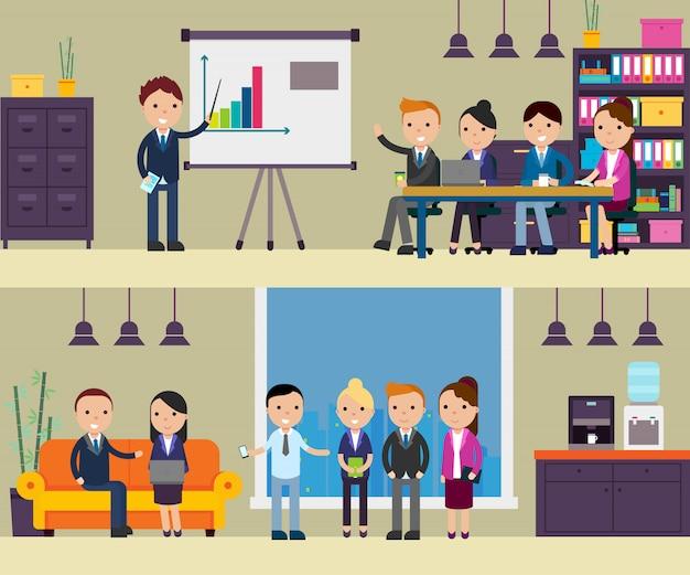 Composición de negociación empresarial