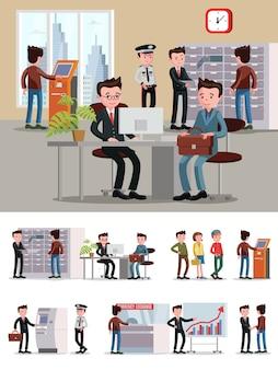 Composición de personas de servicios financieros