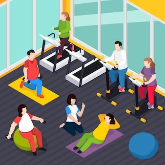 Composición de personas con sobrepeso