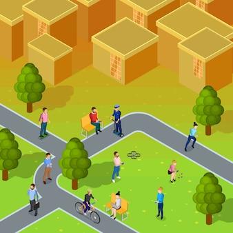 Composición de la sociedad de la ciudad