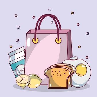 Comprar comida de desayuno