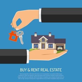 Comprar o alquilar bienes inmuebles