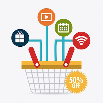 Compras, comercio electrónico y marketing