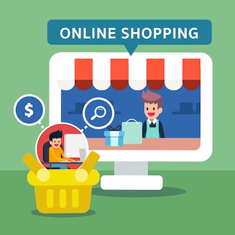 Las compras en línea