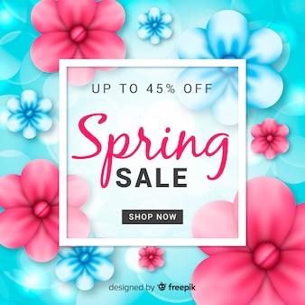 Compras primaverales