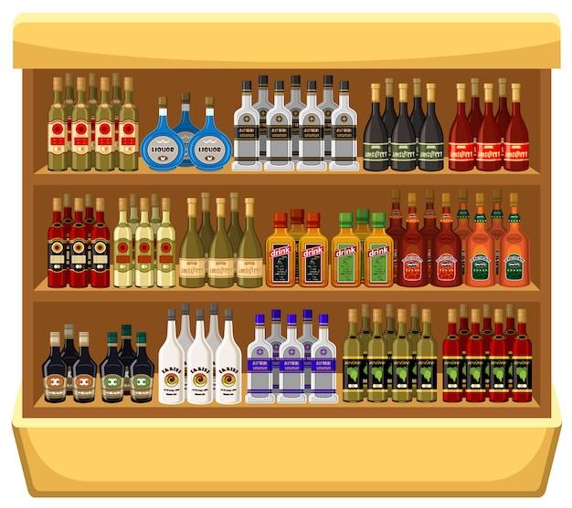 Compre bebidas alcohólicas.