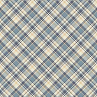 Compruebe el patrón sin costuras a cuadros. fondo de vector de adorno textil. diseño de tejido plano. tartán.
