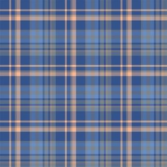 Compruebe el patrón sin costuras a cuadros. fondo de vector de adorno textil. tartán.