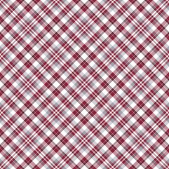 Compruebe el patrón sin costuras a cuadros