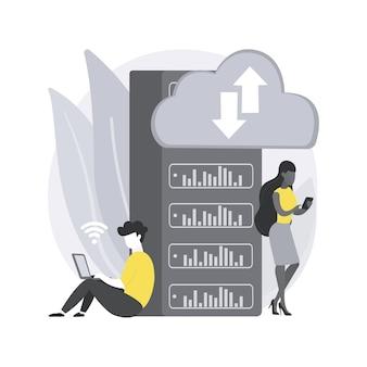 Computación de borde. almacenamiento de datos locales, tiempo de respuesta, optimización de dispositivos de internet y aplicaciones web, fuente de datos, punto final móvil, red.