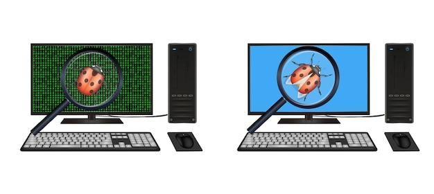 Una computadora encontró un error en la computadora