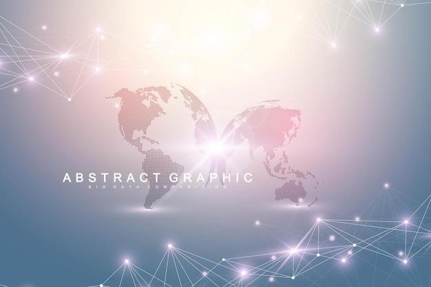 Comunicación de fondo de visualización de datos grandes
