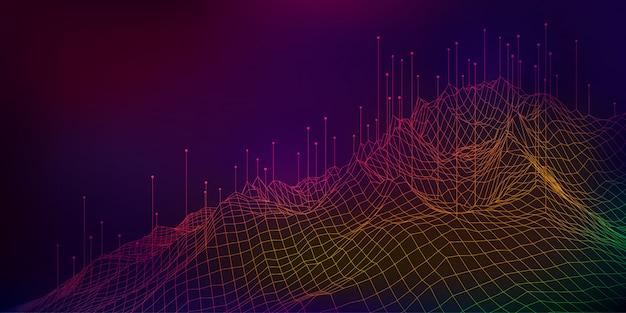 Concepto abstracto de big data