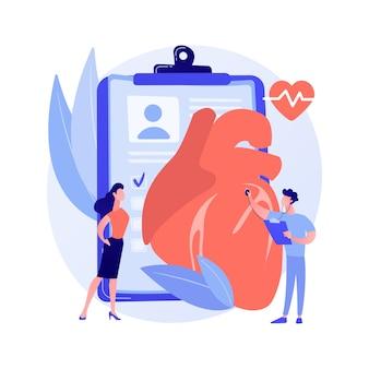 Concepto abstracto de hipertensión