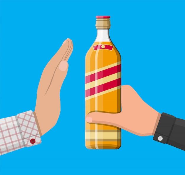 Concepto de abuso de alcohol