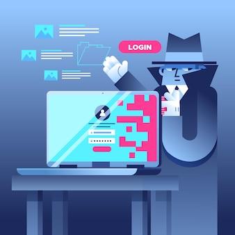 Concepto de actividad hacker