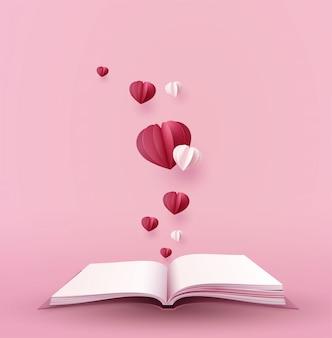 Concepto de amor y dia de san valentin.