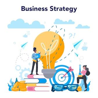 Concepto de analista de negocios