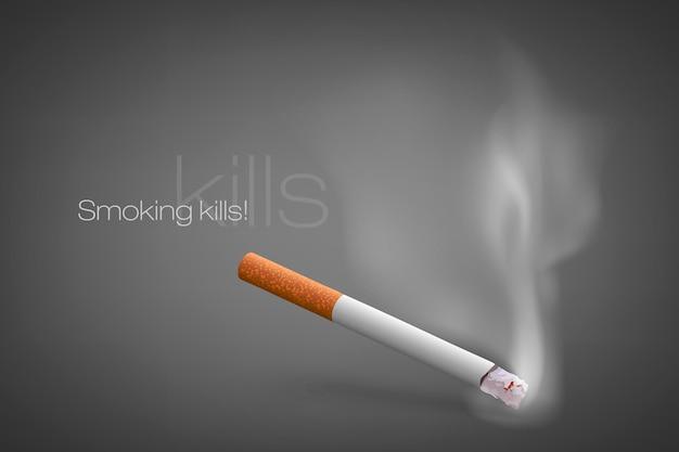 Concepto de anti-tabaco