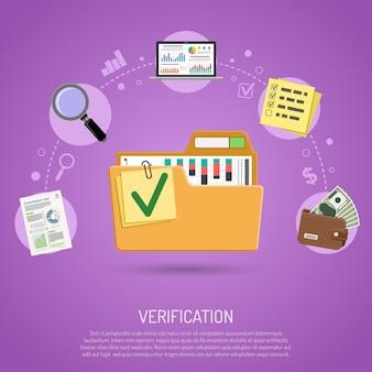 Concepto de auditoría y contabilidad empresarial