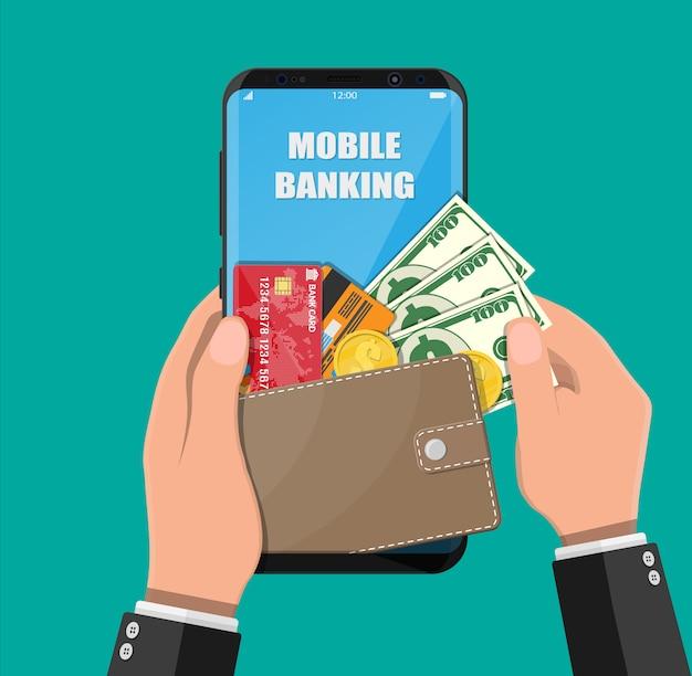 Concepto de banca por internet