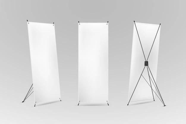 Concepto de banners de soporte x