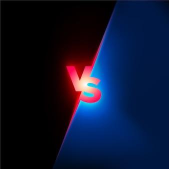 Concepto de batalla. confrontación lucha competencia fondo